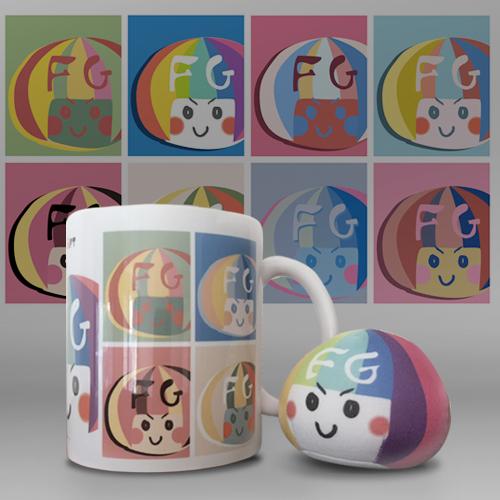 FGちゃんウォーホルマグカップ